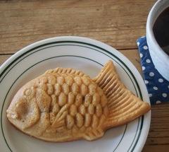 おやつは鯛やき お昼はうどん♪.jpg