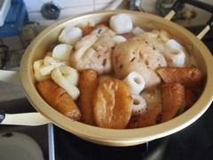 お昼が終わったら夕ご飯のおでんを煮込んで.jpg
