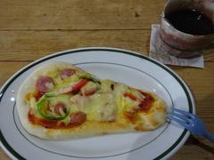 お昼はナンピザを作って 美味しかった!.jpg