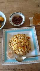 お昼は納豆チャーハン♪.jpg