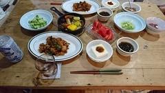 ツヤ姉の野菜が美味しいと何度も言いながら(笑).jpg