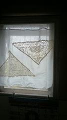 トイレのカーテンを新しく作りました.jpg