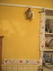 ニワトリの絵の紙ナプキンから こんなの作ってみました~.jpg