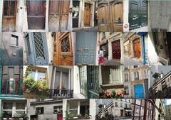 パリの街角ドア ほんの少し撮ってきました.jpg
