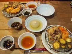 丸まるオニオンスープと天ぷら.jpg