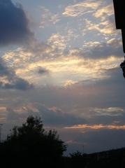 久し振りに夕景が美しいわ.jpg