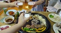 今夜は焼き肉 カンパーイ.jpg