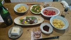 今日はお父ちゃんの誕生日 前祝に秋刀魚の刺身.jpg