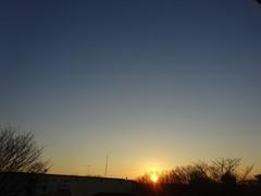 今日一日良く働きました ご褒美は美しい夕日.jpg