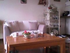 可愛いソファーが届いたあけみのリビング.jpg