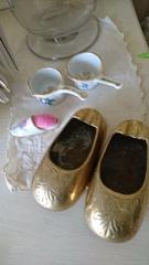 可愛い靴の灰皿 ピンクッションに.jpg