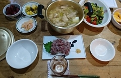 夕ご飯の生姜鍋美味しかった.jpg