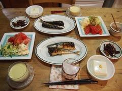 夕ご飯はさんま 美味しかったぁ~.jpg
