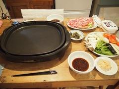 夕ご飯は有るもので焼き肉に.jpg