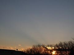 夕方4時半過ぎ 寒い一日でした~.jpg