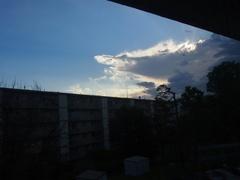夜中の雷と雨が去り 朝が来た.jpg