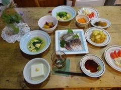 小松菜とあげの煮びたし 新米と食べました~?.jpg