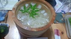 小豆島のおそうめん 美味しく頂いていますと姉が.jpg
