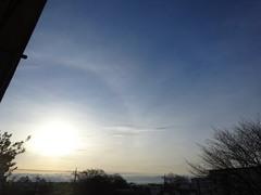 幻想的な朝の空でした.jpg