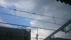 怪しげな雲が 降られるかな~.jpg