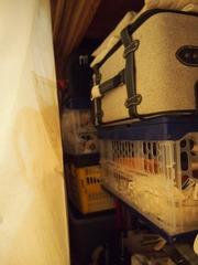 折りたたみケースにはバックや色々コロコロ2つ満杯です.jpg
