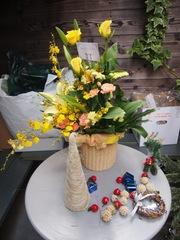 明るい元気な花籠 ありがとうございます.jpg