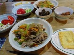 春雨と豚肉と野菜の炒め物 お肉使い切りました~.jpg