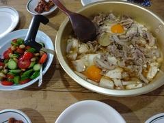暑いのに肉豆腐(笑).jpg
