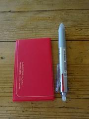 来年の手帳は極小手帳 軽くて小さいが何よりです♪.jpg