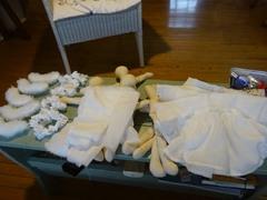 洋服縫い終わり 糸の始末をして着せます.jpg
