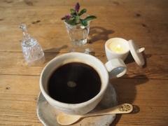涼しくて ホットコーヒーにしました.jpg