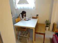 私からの新築祝いのテーブル♪.jpg