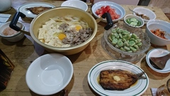 肉豆腐とイワシのソテー.jpg