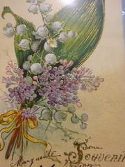 良い香りの花束のカード どなたが贈ったのかしら?.jpg