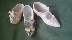 蚤の市で買ってきた陶器の靴.jpg