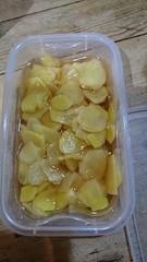 西もっちゃんパパさんから貰った生姜を甘酢に.jpg