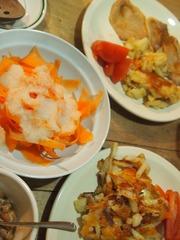 豚肉の生姜焼きと またチーズポテト作っちゃった♪.jpg