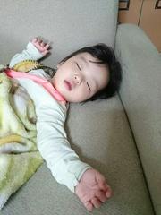 遊び疲れて寝ちゃいました.jpg