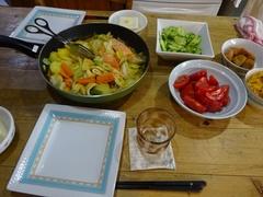 野菜と鮭の甘味噌やき 美味しかった♪.jpg