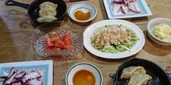 鉄スキ餃子 タコのなんちゃら風 美味しかったです.jpg