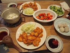 鶏の一口カツとさつま芋のフライ.jpg