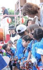 2007年7月子供神輿に参加した孫達.jpg