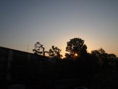 23日朝6時前雲一つない♪.jpg