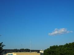7時前 幸せの青い空白い雲.jpg