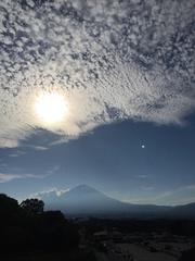 myのまーさんから 富士山と雲.jpg