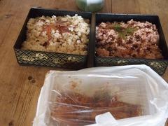 お赤飯とタコ飯と焼き豚と.jpg