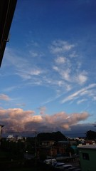 まあ こっちの空まで夕陽に染めてくれて ありがと♪.jpg