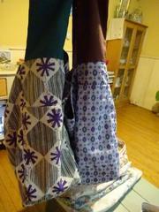 夜に広幅袋2枚作って♪.jpg