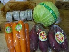 濱津さんちのお野菜たち♪お正月いただきます.jpg