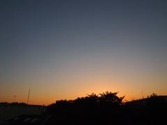 秋 夕景は 凛として.jpg